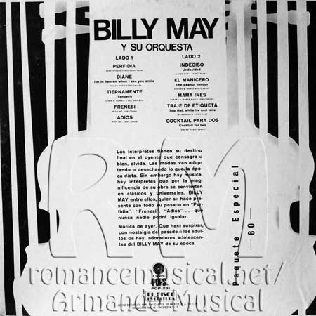 Tras - Billy May Orchestra